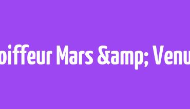 15 Jahre Coiffeur Mars & Venus