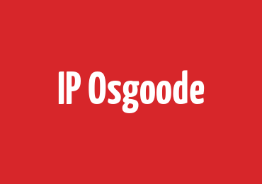 IP Osgoode Speaks Series Featuring Prof. Matthew Rimmer