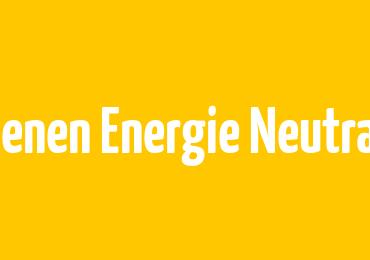 LOENEN ENERGIE NEUTRAAL SCHAALT OP!