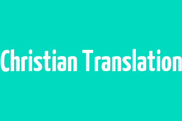 Christian Spanish Translation