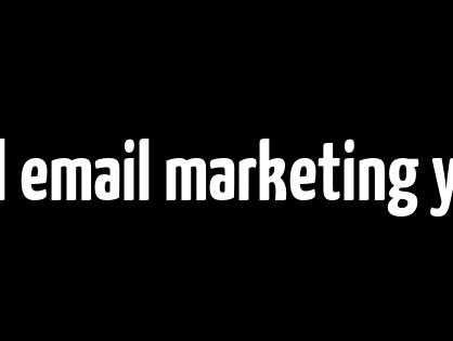 ¿Qué es el email marketing y cómo desarrollarlo correctamente?