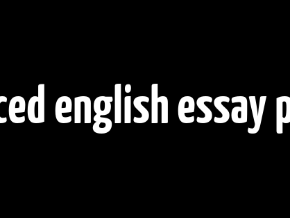 advanced english essay phrases