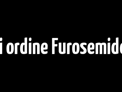 Bonus pillola di ogni ordine Furosemide generico a buon mercato per la vendita