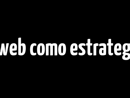 El diseño web como estrategia en el marketing digital