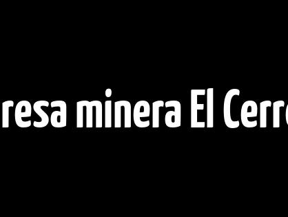 Empresa minera El Cerrejón