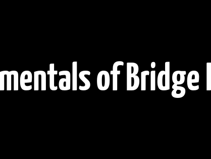 Fundamentals of Bridge Rating