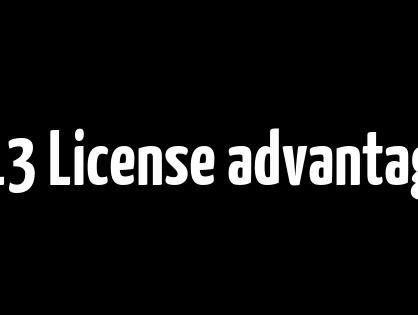 GPL3 License  advantages