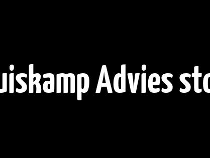 Kruiskamp Advies stopt