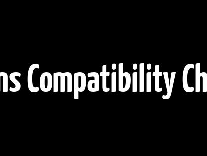 Nikkor Lens Compatibility Chart