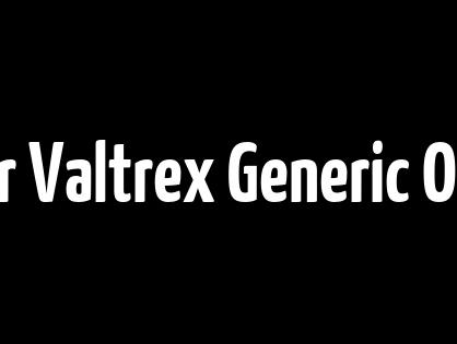 Order Valtrex Generic Online