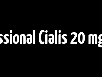Ordine online Professional Cialis 20 mg. Sconto Online Pharmacy. Visa, MC, Amex è disponibile