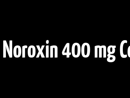 Pas De Pharmacie Rx. Noroxin 400 mg Comprimé. Livraison dans le monde rapide