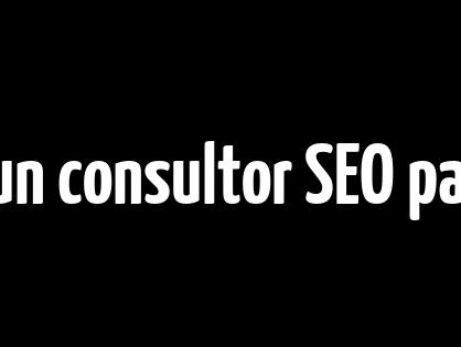 Qué hace un consultor SEO para el sitio web de tu empresa