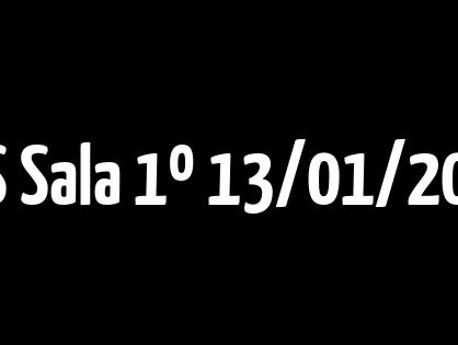 STS Sala 1º  13/01/2021