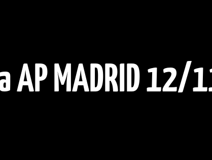 Sentencia AP MADRID 12/11/2020