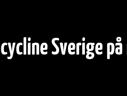 Tetracycline Sverige på nätet