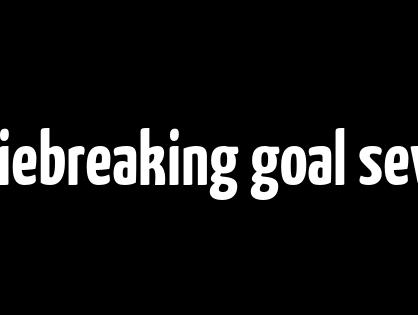 scored a tiebreaking goal seven cheap nfl jerseys