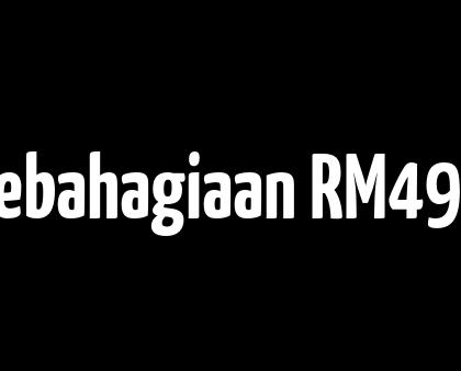Tabung Kebahagiaan RM496 sebulan