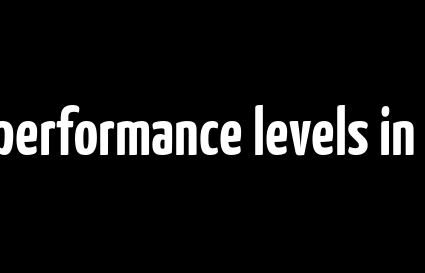 Enhancing the performance levels in outdoor games