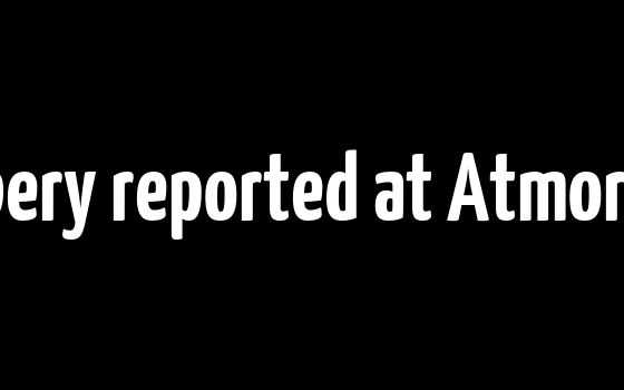 Armed robbery reported at Atmore ABC Store