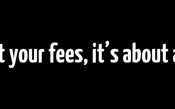 It's not about your fees, it's about access to NFC