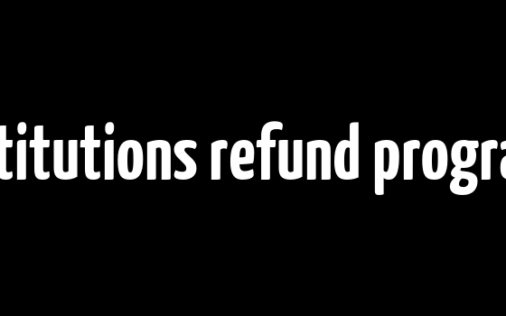 Major financial advisory institutions refund programs for fees-for-no-service