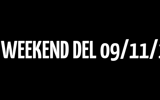 PRONOSTICI DEL WEEKEND DEL 09/11/19 – 10/11/19