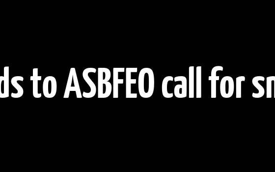 Parliament responds to ASBFEO call for small business focus