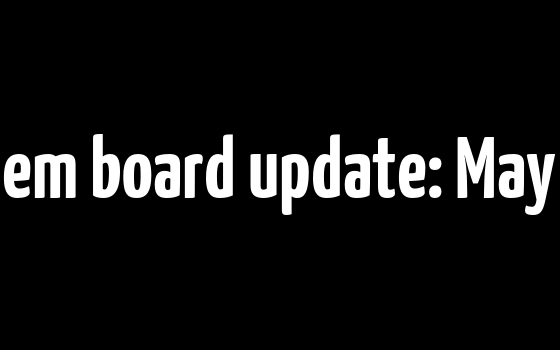 Payments system board update: May 2017 meeting
