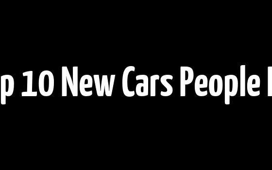 These Are The Top 10 New Cars People Keep The Longest