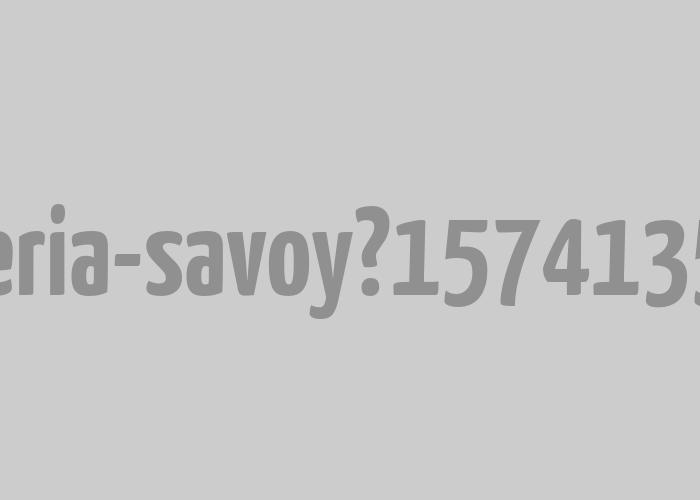 Barbería Savoy   Logotipo para barbería tradicional.