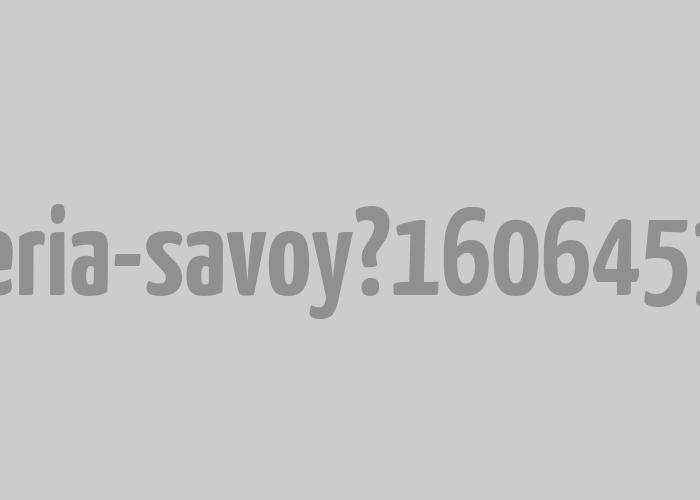 Barbería Savoy | Logotipo para barbería tradicional.