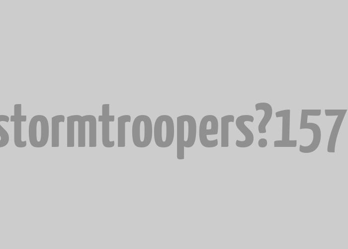 Imperial Stormtroopers   <em>Naming</em> e imaxe para evento pop.