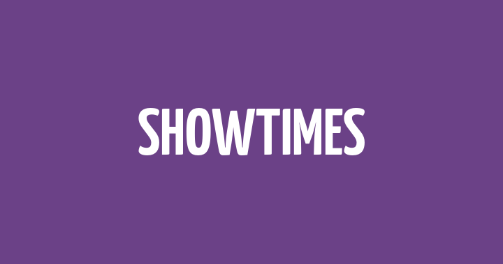 ShowTimes 秀泰影城電影時刻表