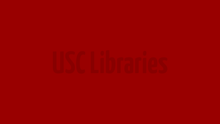 USC Libraries